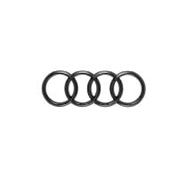 Original Audi TTRS Ringe Logo Emblem schwarz zum...