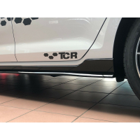 Original VW TCR Schriftzug Logo schwarz selbstklebend...