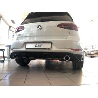 Original VW TCR GTI GOLF 7 Heck-Diffusor Nachrüst-Set Schwarz