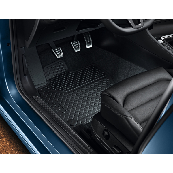 Original Volkswagen Golf 7 Gummi-Fußmatten Allwettermatten vorne