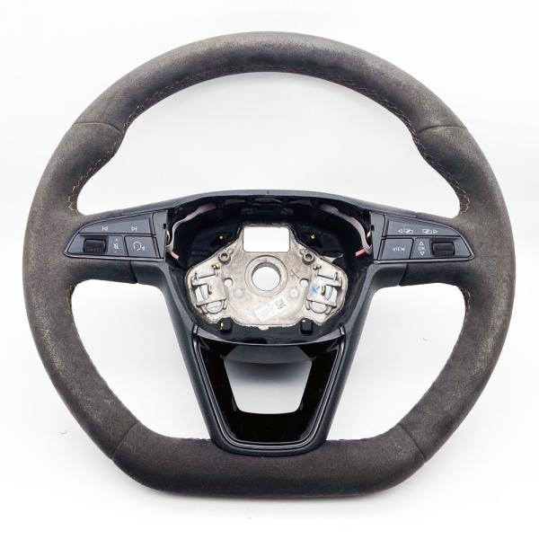 Original Seat Leon Cupra R Lenkrad Sportlenkrad Alcantara Tiptronic gebraucht