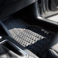 Original Audi Q2 Gummi Allwetter Fußmatten Matten...